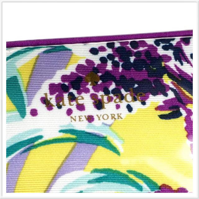 케이트 스페이드 Kate Spade 파우치 화장 파우치 레이디스 여행 케이트 스페이드 브러쉬 생강무늬