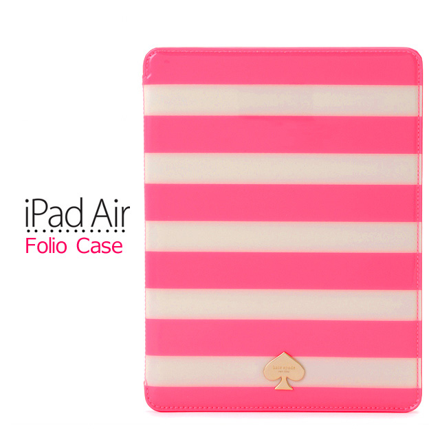 new style 8cf81 249db 024176007 Kate spade ipad air case IPAD AIR cover folding kate spade eye  pad air brand stripe borders