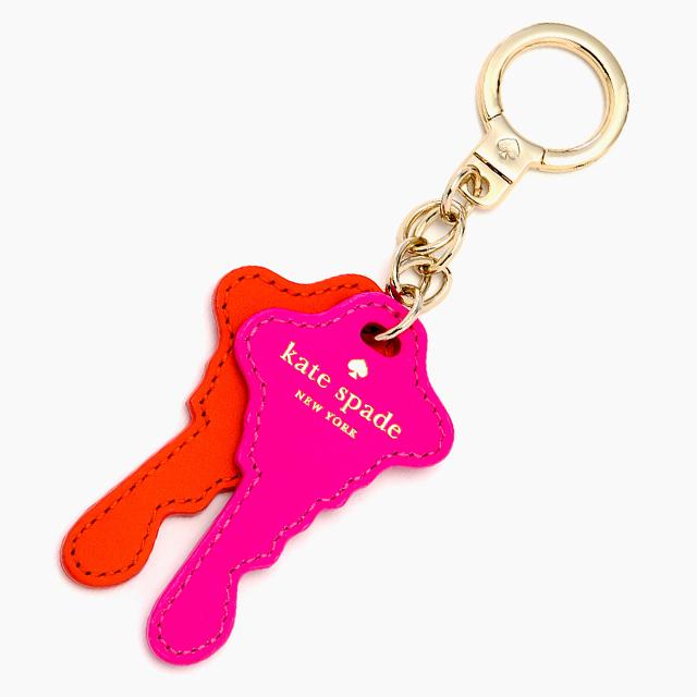 케이트・스페이드 kate spade NEW YORK things we love keys keychain 우리는, 키의 형태를 한 키・체인을 좋아합니다. 키링키호르다키포브 CYBER ORANGE VIVID SNAPDRAGON 사이버・오렌지+비비드・스냅 드래곤