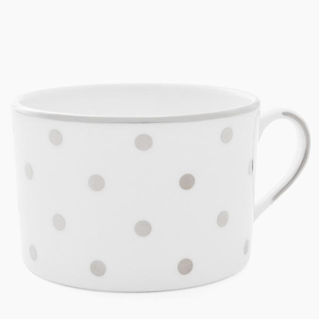 ケイト・スペード kate spade NEW YORK ララビー ロード プラチナ カップ LARABEE ROAD PLATINUM CUP ホワイト WHITE ティーカップ コーヒーカップ マグカップ