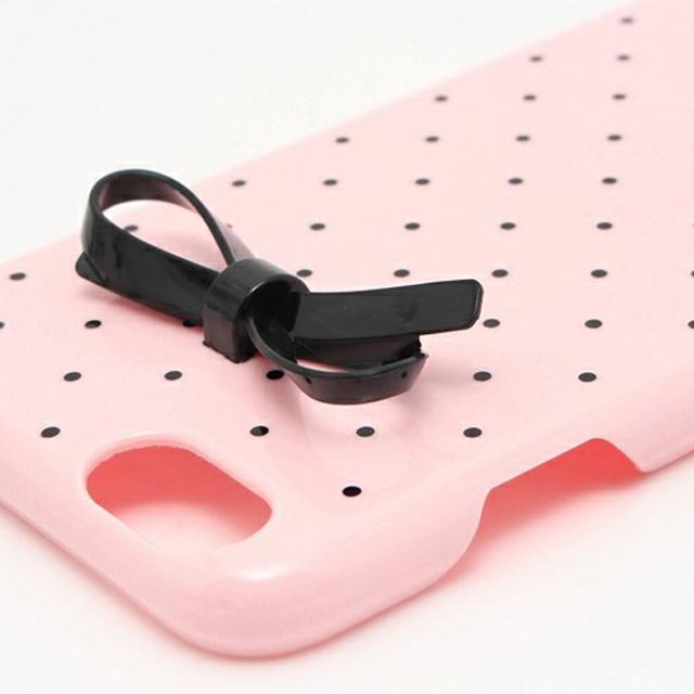 케이트 스페이드 kate spade NEW YORK 레 진 아이폰 6/6s 사례 초소형 골드 도트 보우 작은 도트 리본 RESIN IPHONE 6 CASE TINY GOLD DOT BOW 핑크 PINK iPhone6 케이스 아이폰 케이스 아이폰 6 케이스 브랜드 여성 손목시계