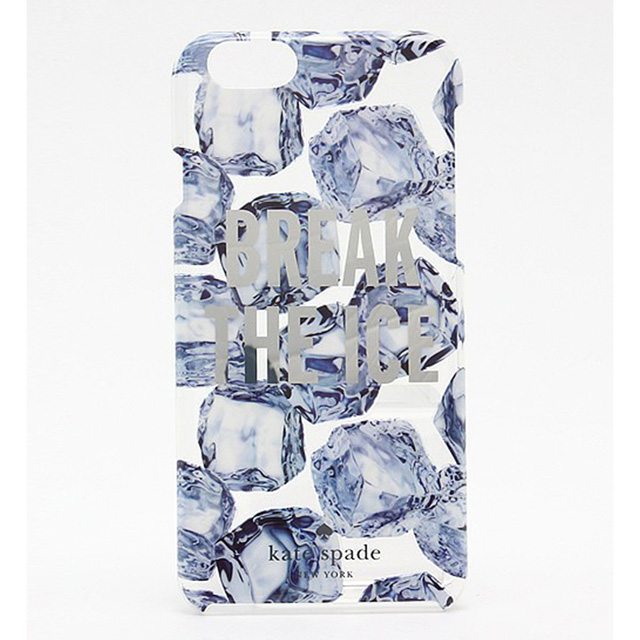 ケイト・スペード kate spade NEW YORK IPHONE 6/6sケース RESIN IPHONE 6 CASE BREAK THE ICE レジン アイフォン6 アイフォン6s ケース ブレイク ジ アイス アイス・ブルー iPhone6ケース アイフォンケース アイフォン6ケース ブランド 女性 新作