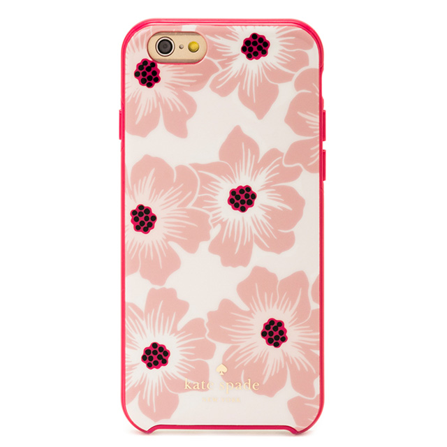 Kate-spade kate spade NEW YORK Kate spade IPHONE 6 6 6 s case iPhone iPhone  6 s case Holly Hock IPHONE CASES HOLLYHOCK - 6 top AOI pink brand women new 6a322cae07