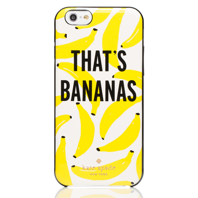 ケイト・スペード kate spade NEW YORK アイフォン6 アイフォン6sケース IPHONE 6 6s ザッツ バナナ IPHONE CASES THAT'S BANANAS - 6 それってクレイジー クリームマルチ ブランド 女性 新作