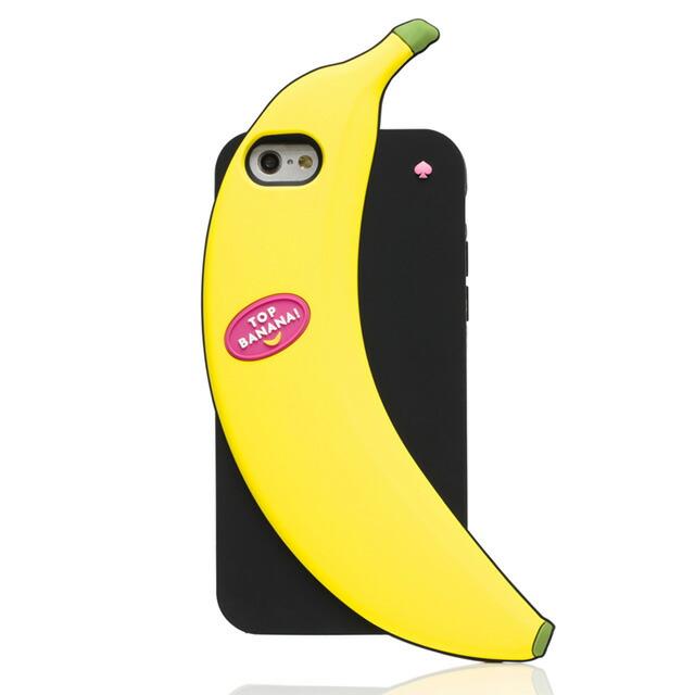 ケイト・スペード kate spade NEW YORK アイフォン6 アイフォン6sケース IPHONE 6 6s トップ バナナ IPHONE CASES TOP BANANA - 6 重要人物 イエロー+マルチ ブランド 女性 新作