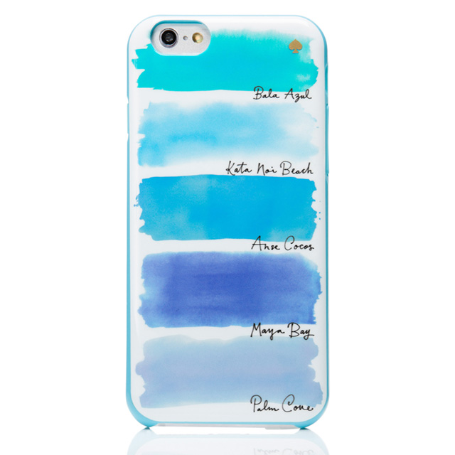 Kate spade kate spade NEW YORK iPhone 6 iPhone case IPHONE 6 6 6 s s  watercolor stripe IPHONE CASES WATERCOLOR STRIPE - 6 5 sea blue stripe blue  multi brand ... 9fa7263747