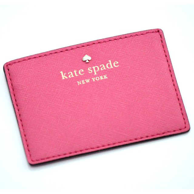 size 40 b16ce cbdba Kate spade New York kate spade NEW YORK card pass regular put Cedar Street  Card Holder pink of pwru4027-993 women's brand white birthday Christmas ...