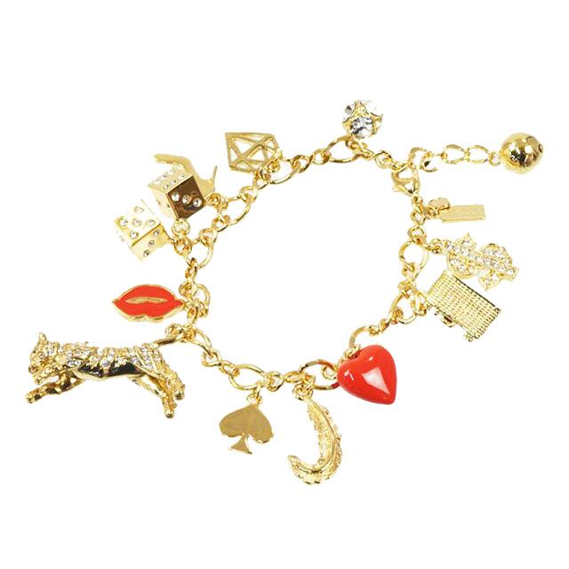 ケイト スペード ニューヨーク Kate Spade New York ブレスレット チェーン チャームブレスレット Lucky Streak Charm Bracelet