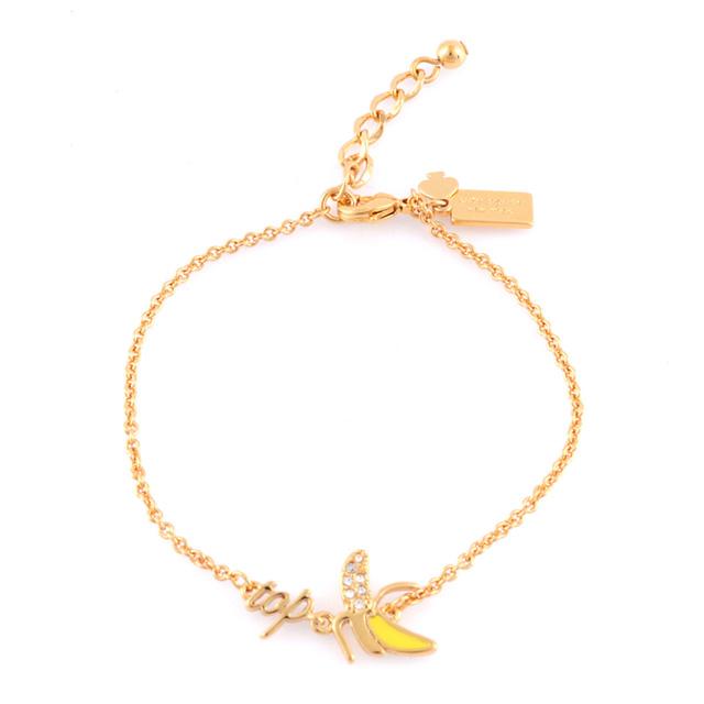 케이트 스페이드 kate spade NEW YORK wbrua724-915 things we love top banana bracelet 바나나 주제 ブレスット 여성용 브랜드 정품 손목시계
