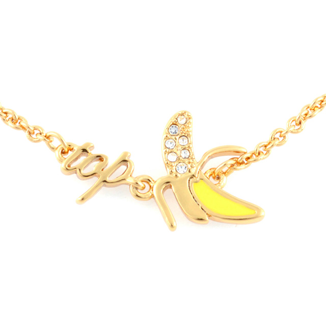 Kate spade kate spade NEW YORK wbrua724-915 things we love top banana bracelet banana motif blast ladies brand regular new