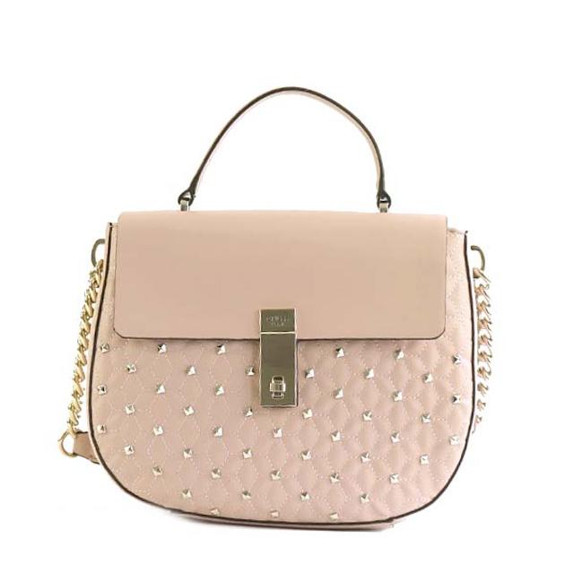 ゲス Guess Mckenna 2way Shoulder Bag Handbag Cameo Pink System Multi Vg678918