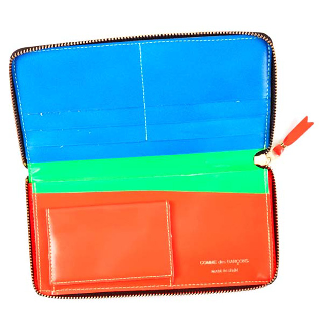 63663df1b5e9 ... コムデギャルソン COMME des GARCONS 財布 ラウンドファスナー 長財布 SA0110SF SUPER FLUO ZIP  AROUND LONG WALLET ...