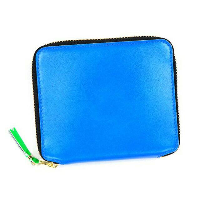 Blue Leather Wallet Comme Des Gar?ons cYcFSAGKa