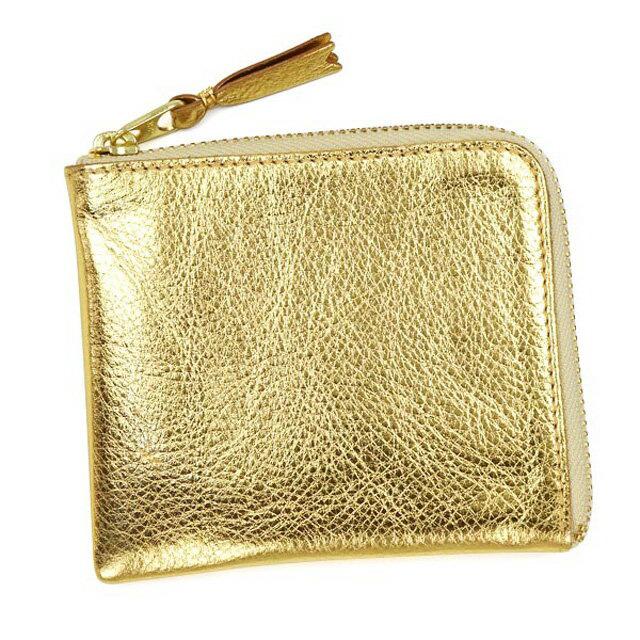403217c5ce35 ゴールド GOLD 小銭入れ コインケース L字ファスナー式 ゴールドアンドシルバー SILVER AND GOLD SA3100G 財布  GARCONS des COMME コムデギャルソン-メンズコイン ...