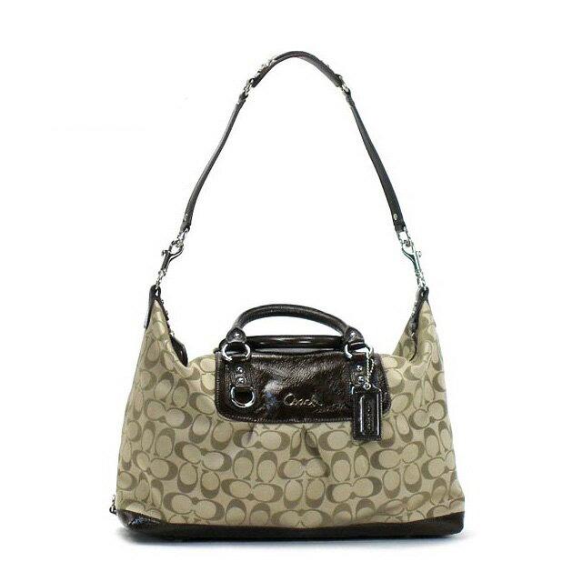 COACH outlet coach bag F15440 SKHMH signature COACH outlet shoulder bag Boston bag Boston 2WAY brand Lady's fs3gm