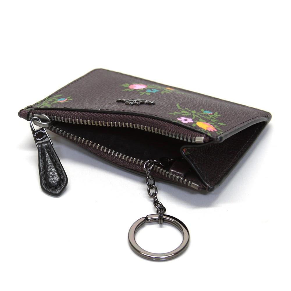 Coach COACH coin case 23518 MINI SKINNY ID CASE minis Kinney ID case pass  case coin purse 359b3927a7752