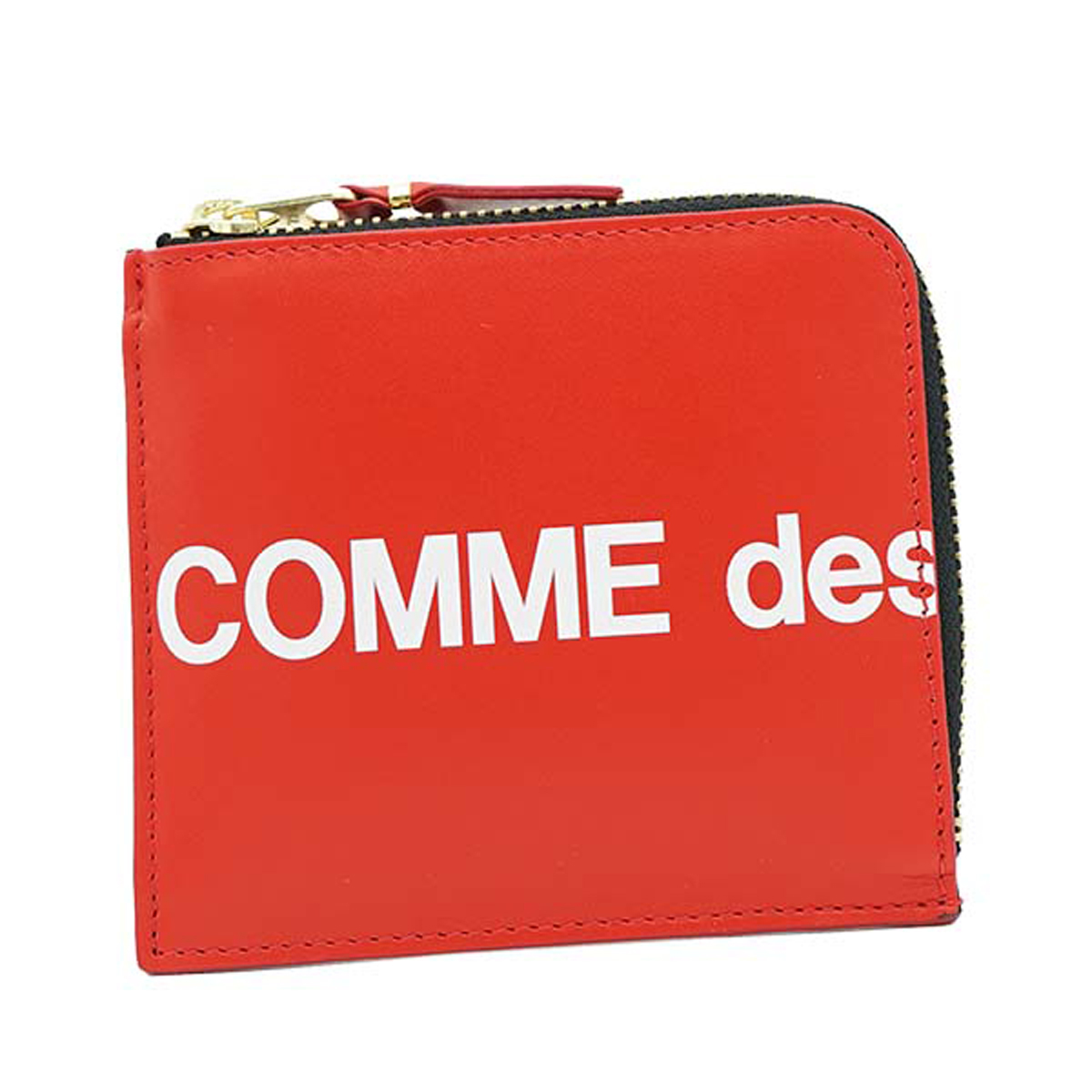 コムデギャルソン COMME des GARCONS コインケース SA3100HL RED レッド 牛革 L字ファスナー 小銭入れ 男女兼用 ユニセックス プレゼント 誕生日 ギフト