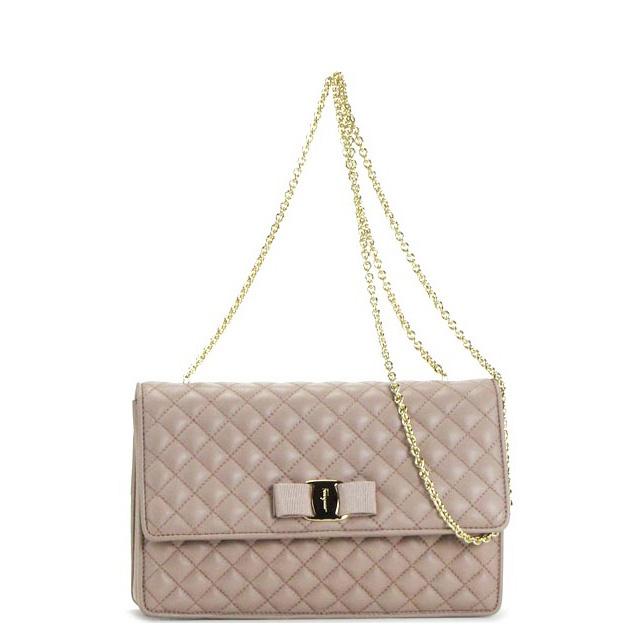 Salvatore Ferragamo bag shoulder bag chain bag ladies also Ribbon brand popular SalvatoreFerragamo