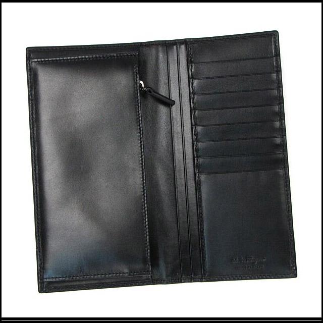 Ferragamo Salvatore Ferragamo wallet mens ladies 2 fold 669816 brand 589555