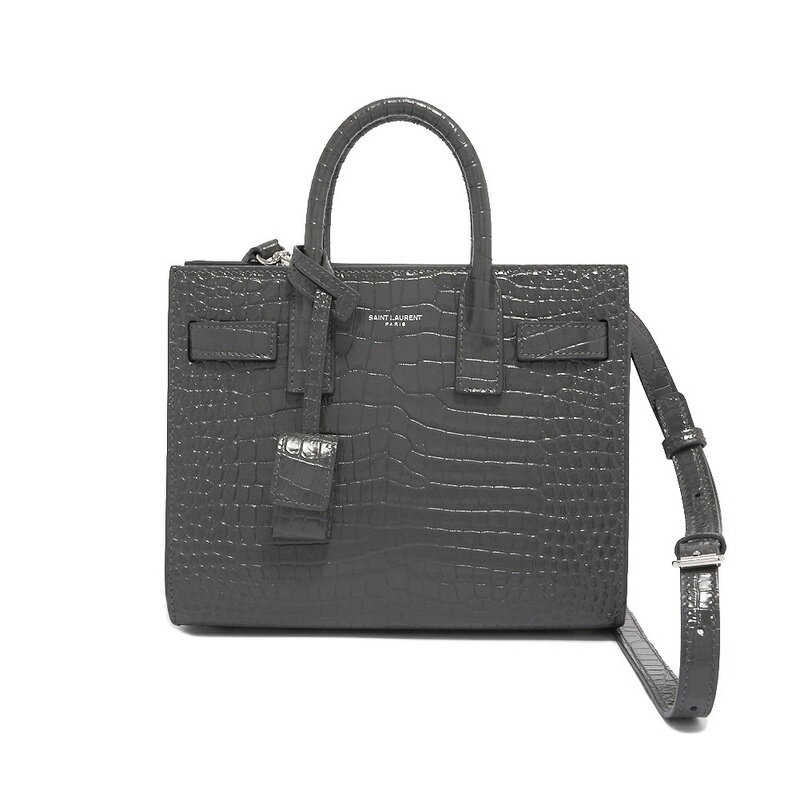 703aec58 Saint-Laurent SAINT LAURENT 392035 DND1N 1112 Classic Nano Sac De Jour  handbag handbag STORM gray shoulder bag Lady's woman present gift outing is  new