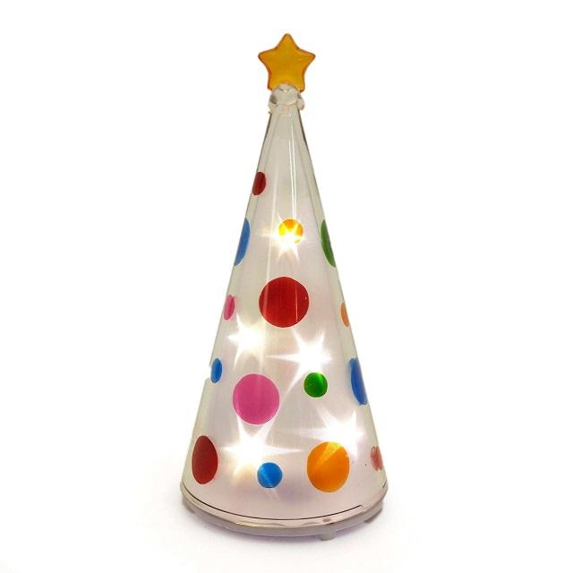 Holographic Christmas Tree.A Present Gift For The Gts Mini Buddy Hologram Dot Tree Xtn309 Christmas Tree Waterdrop Star Lamp Desk Light Decoration Lighting Ornament Living