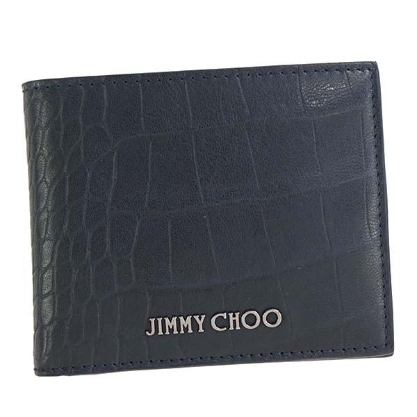 ジミーチュウ JIMMY CHOO カードケース MARK CZL マーク ロゴ レザー NV ネイビー レディース メンズ プレゼント ギフト 新品