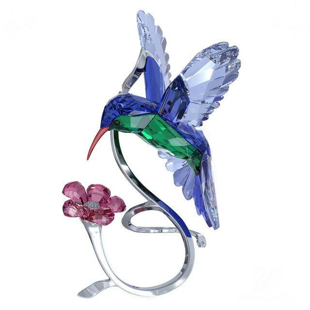 スワロフスキー 置物 SWAROVSKI フィギュア 多面カット ガラス像 HUMMINGBIRD ハチドリ 1188779 プレゼント 結婚祝い 贈り物 送料無料