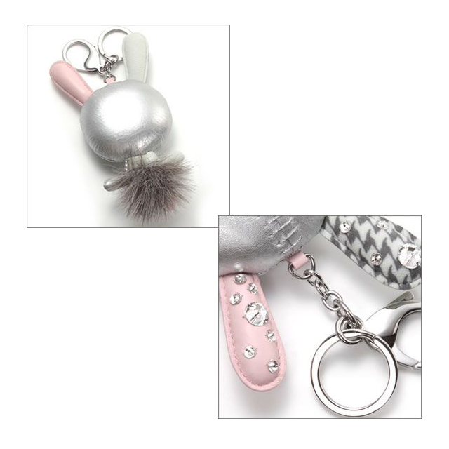 d0982ae1ba4 ... Swarovski SWAROVSKI Mathilde Silver Crystal Bunny cute  three-dimensional form 'Mathilde' bag charm ...