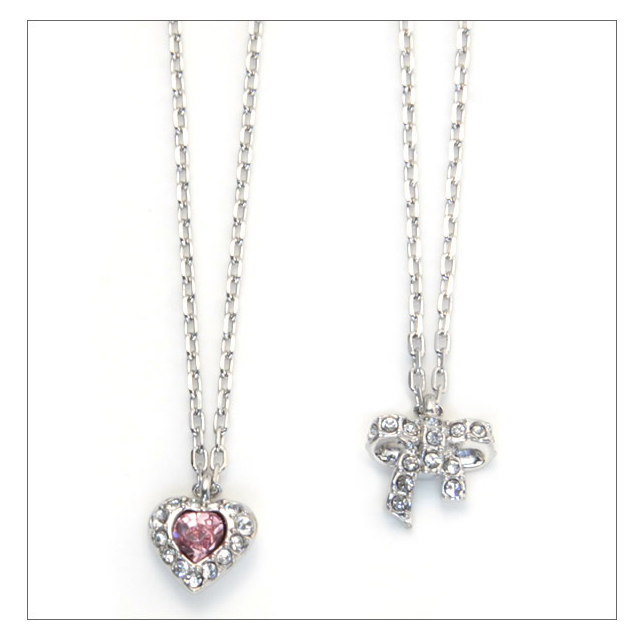 Swarovski necklace SWAROVSKI Treasure Heart Bow Mini pendant 5055953