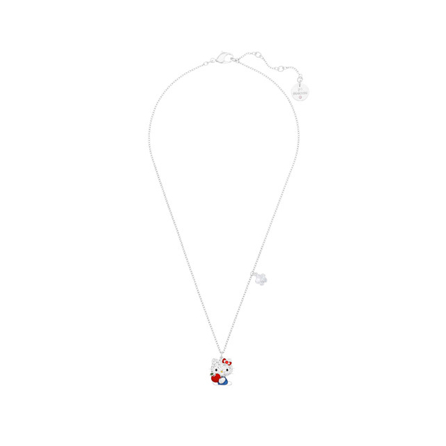 6b4a75167 ... Swarovski Hello Kitty Red Apple Hello Kitty Crystal pointiage ® pendant  necklace 5075268 ...