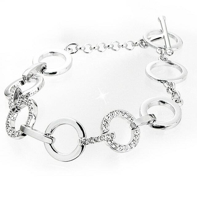 2df2b2738 Salada Bowl: Swarovski Crystal Circle bracelet Bangle 678223 CIRCLE ...