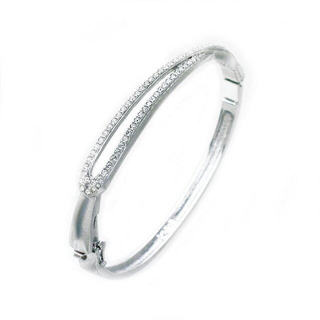 697307 Swarovski Bangle Bracelet Hermine New Work Brands