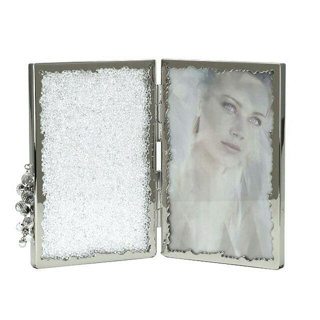 スワロフスキー 写真立て SWAROVSKI 多面カット ガラス CRYSTALLINE PICTURE FRAME フォトフレーム 918633 結婚祝い 贈り物 送料無料