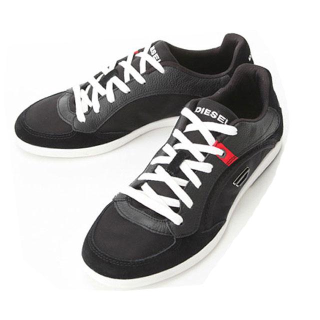 ディーゼル スニーカー メンズ DIESEL シューズ 靴 EASTCOP STARCH Y00674 PS308 T8013 ブラック 黒u35TFlKJc1