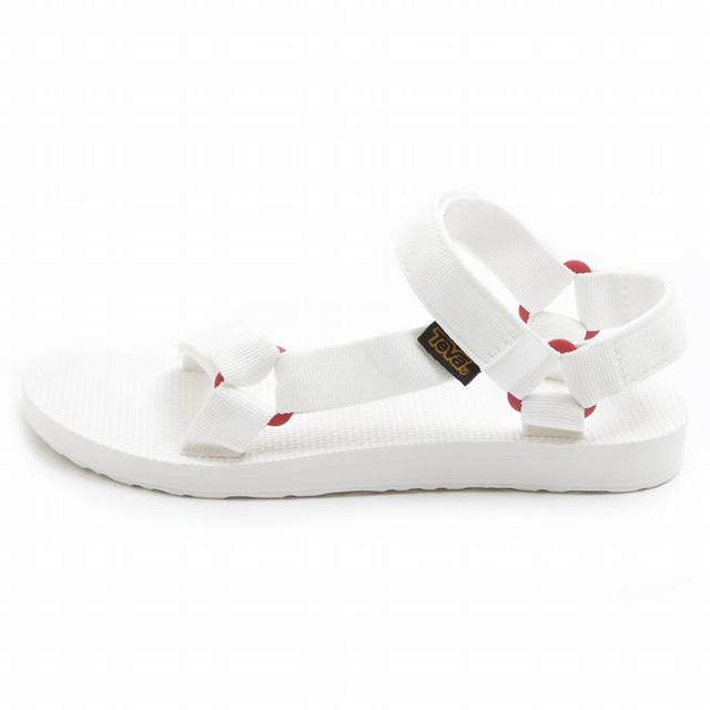 098ad10a1c2010 Teva TEVA ORIGINAL UNIVERSAL SPORT Teva Sandals outdoor BRWH white + white  ladies women s ladies   genuine brand new Festival Summer Festival camp  white ...