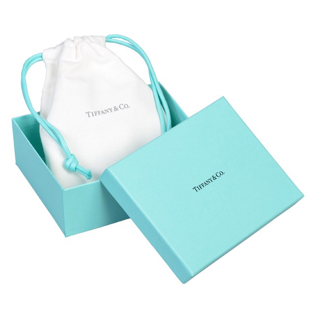 Tiffany TIFFANY jewelry case jewelry box jewelry box new brand ladies zip-jewelry-case Christmas light third birthday white gifts women
