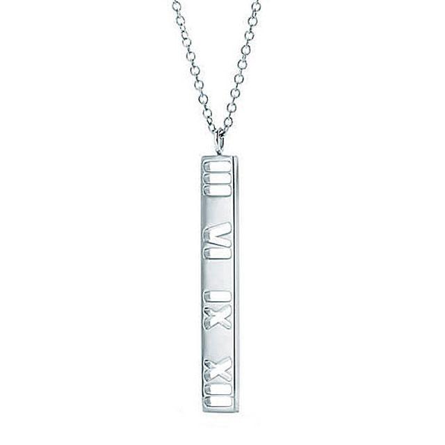 af70b2eeb Tiffany) TIFFANY necklace Tiffany Atlas bar pendant. ( Tiffany) TIFFANY  necklace Tiffany Atlas bar pendant ...