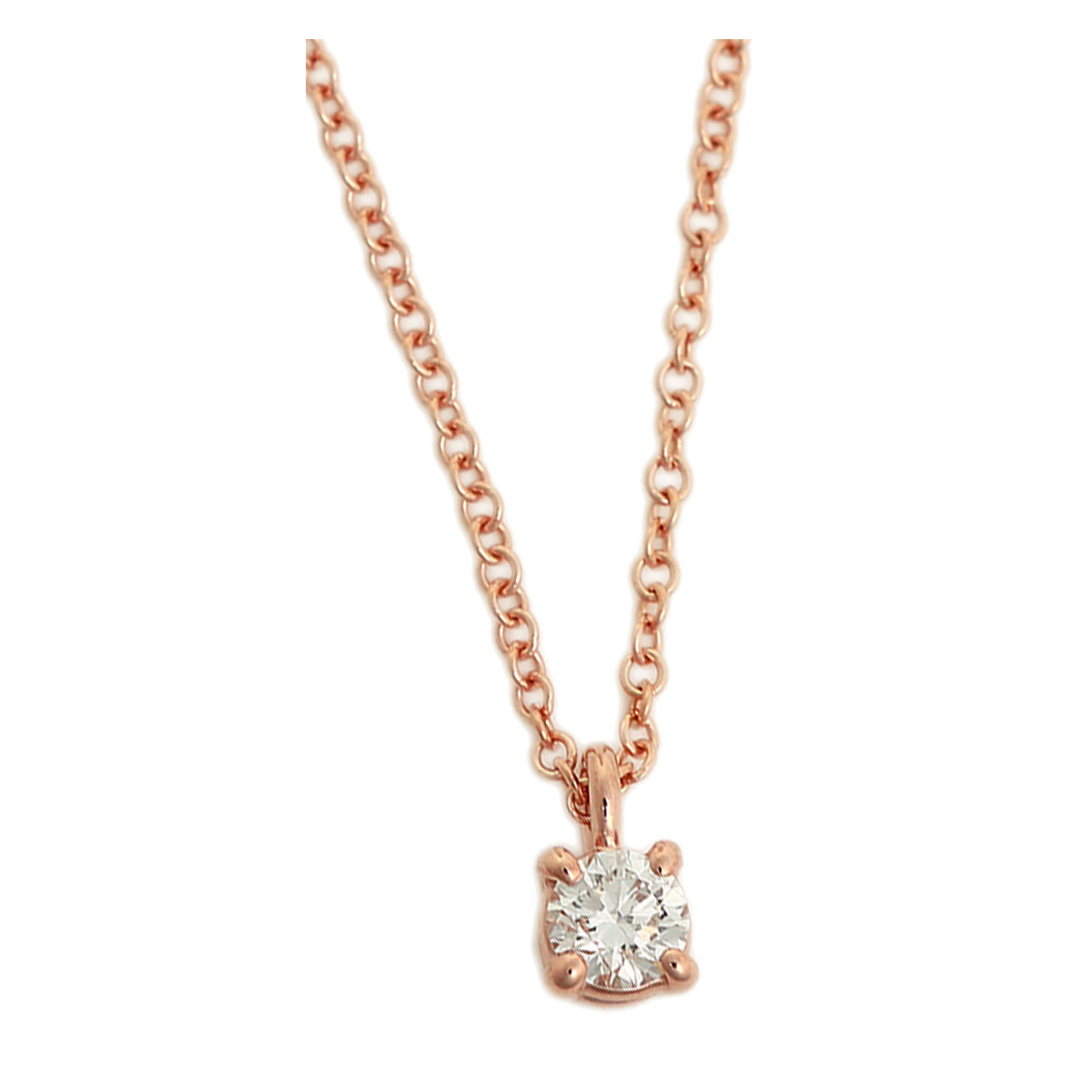 Salada bowl rakuten global market tiffany necklace single diamond tiffany necklace single diamond tiffany co solitaire diamond pendant12ct 16 in 18r 30420837 rose gold diamond aloadofball Images