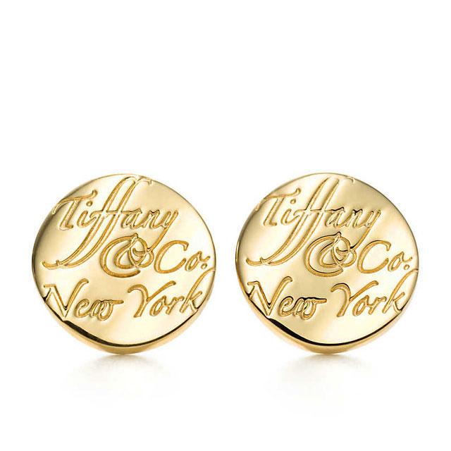 ティファニー TIFFANY ピアス ノーツ イヤリング K18 Tiffany Notes mini Earrings
