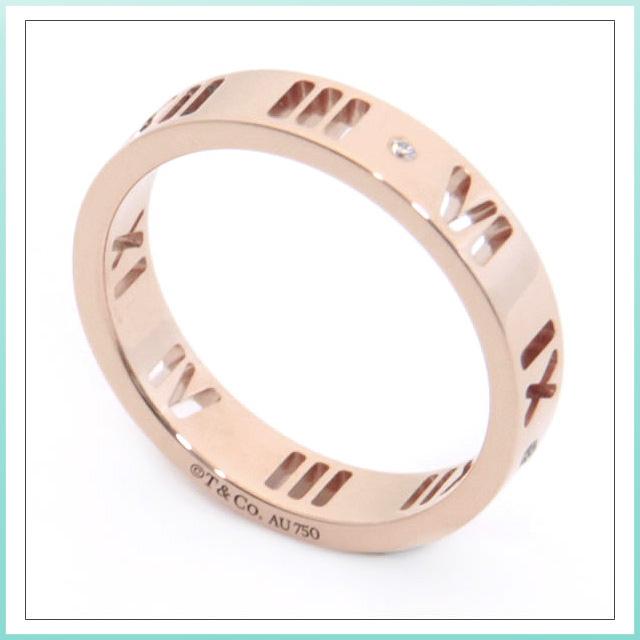 Salada Bowl Tiffany S Tiffany Atlas Ring Diamond 18r Rose Gold