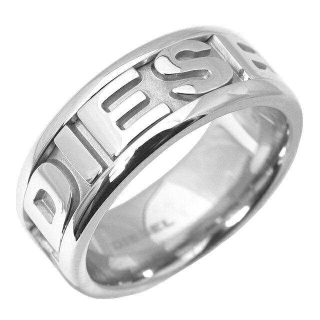 ディーゼル DIESEL リング 指輪 メンズ レディース 格安 ステンレス シンプル ブランド バレンタイン ギフト クリスマスプレゼント ホワイトデー DX0050040 父の日プレゼント 商品追加値下げ在庫復活 クリスマス シルバー ロゴ