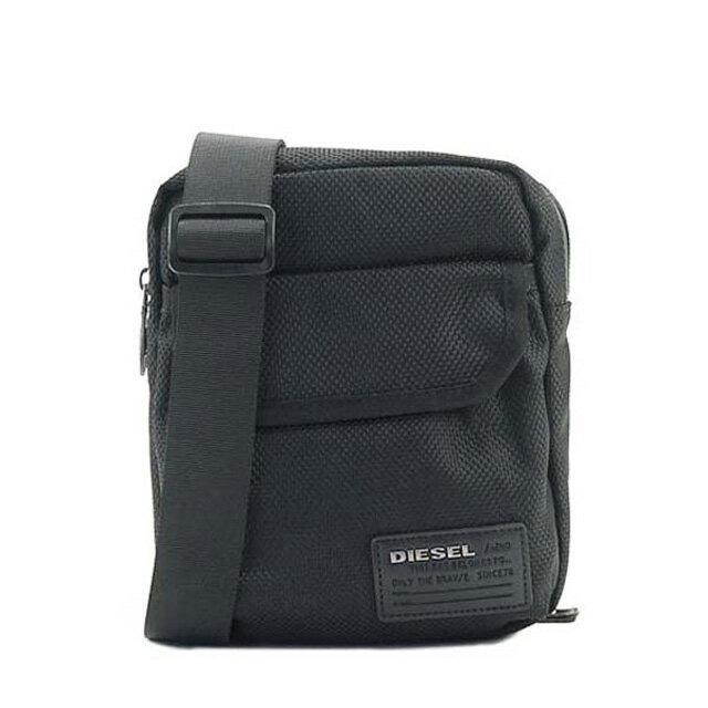 ディーゼル DIESEL バッグ X04010 PR027 T8013 F-CLOSE BACK 斜めがけショルダーバッグ BLACK 黒