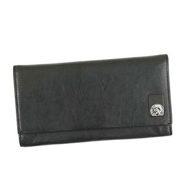 ディーゼル DIESEL 財布 X04478 PR013 T8013 24 A DAY フラップ長財布 メンズ レザー BLACK ブラック