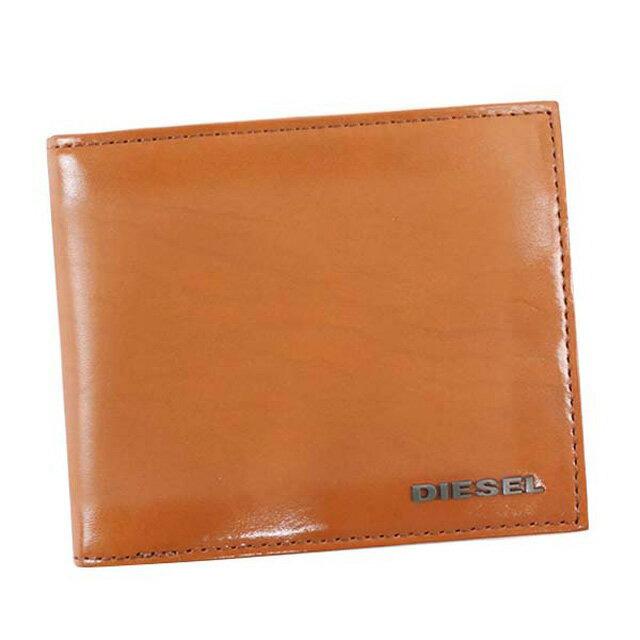 638394f07f4c ディーゼル DIESEL 財布 X04750 P0231 T2335 HIRESH S 二つ折り財布 メンズ レザー CARAME CAFE キャメル  。