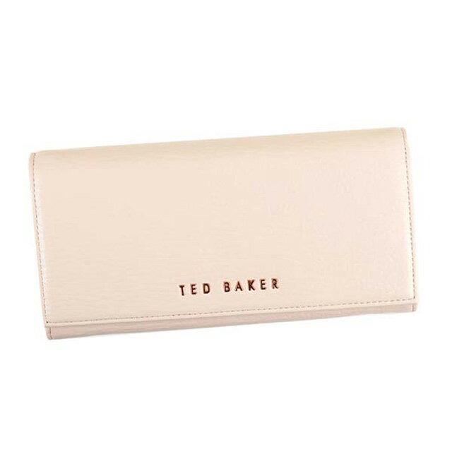 テッドベーカー テッドベイカー TED BAKER 長財布 レディース 133618 RAELEE 長サイフ L.BE 95 レザー ナチュラル NATURAL ライトベージュ系 新品 正規品 未使用 可愛い お洒落 ギフト プレゼント 誕生日 女性