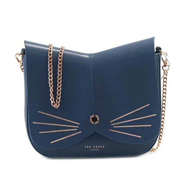 31a11e8a9 Ted Baker Ted Baker TED BAKER KITTII shoulder bag chain bag cat type CAT  ANIMAL CROSS BODY BAG MID BLUE blue system 137929 XBE5 15