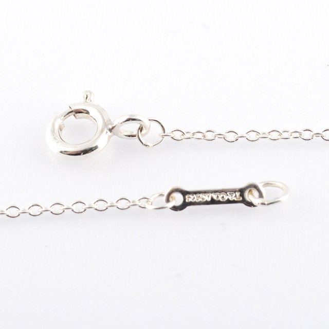 Paloma picasso loving heart bar pendant in sterling silver tiffany aloadofball Gallery