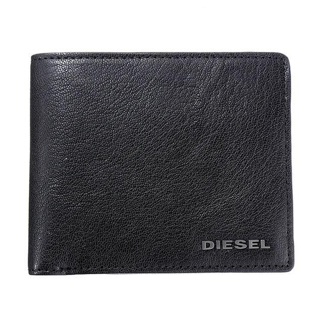 ディーゼル DIESEL 財布 X03925 PR271 T8013 小銭入れ付き 二つ折り財布 BLACK ブラック