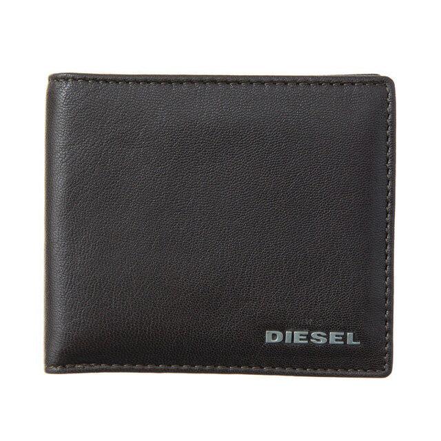 ディーゼル DIESEL 財布 X04459 PR227 H6475 小銭入れ付き 二つ折り財布 ダークブラウン+ブルーPnwON8Xk0Z
