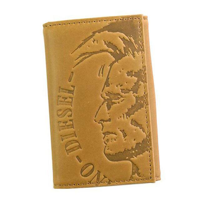 ディーゼル DIESEL X04759 PR160 T2278 HIGH PROFILEE KEYCASE O キーリング付 6連キーケース GOLDEN BROWN ライトブラウン